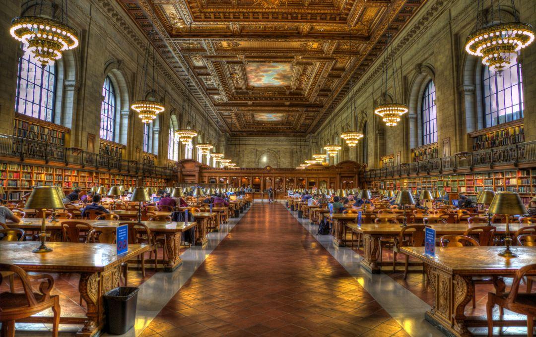 نیویورک چگونه مکان عالی برای کتابخوانها است؟