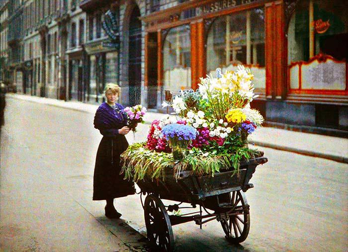 پاریس 100 سال پیش