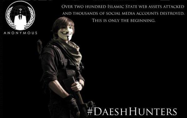 هکرهای وابسته به داعش قصد دارند پاسخ کمپین «تمسخر» گروه Anonymous را بدهند