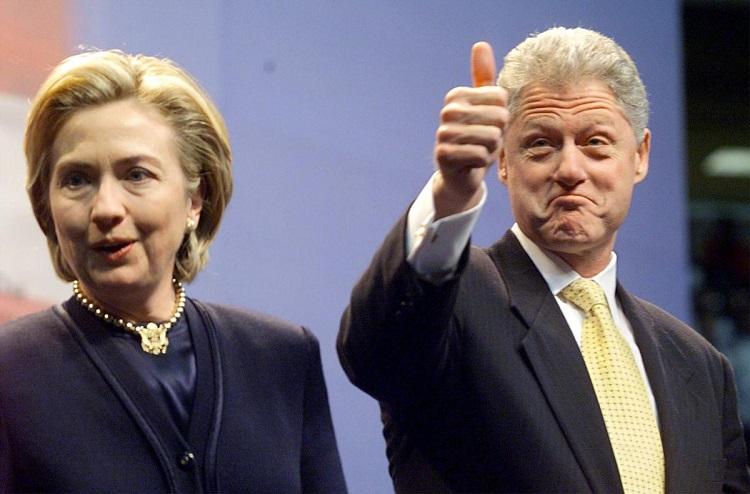 شایعات مبنی بر حضور «بیل کیلینتون» در کنار هیلاری