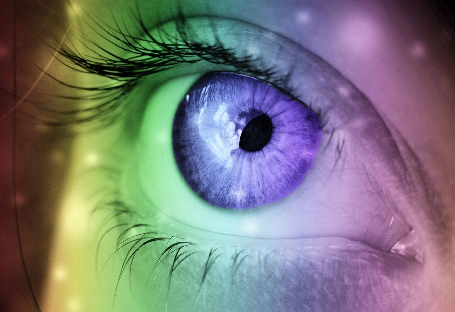 ما چگونه رنگها را میبینیم؟