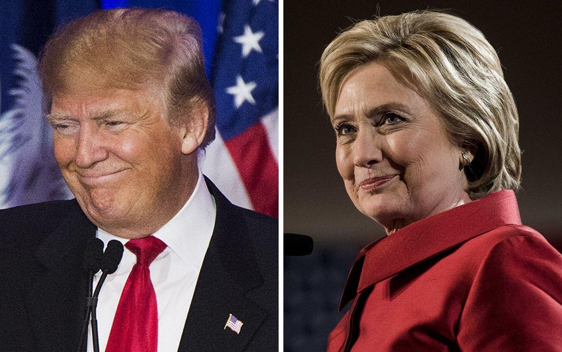 سهشنبه طلایی برای کلینتون و ترامپ